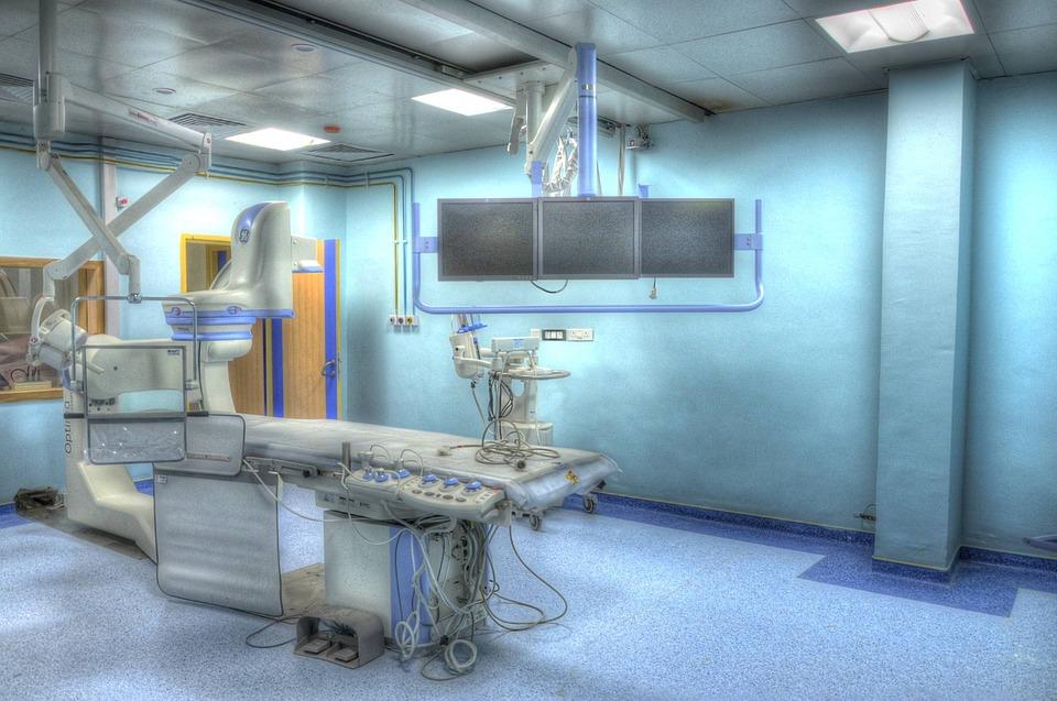 quirófano de trasplante de útero