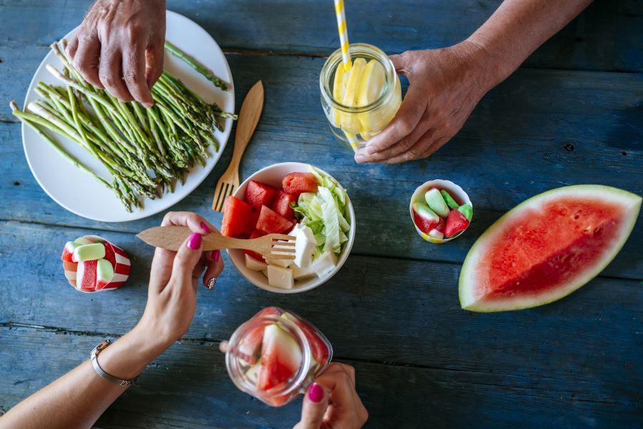 El método de la Dieta Montignac. Desayuno, comida y cena